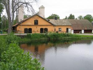 Vallonsmedjan i Österbybruk, en av de sju järnbruken.